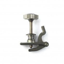 Dual use titanium adjuster for loop & ball E strings